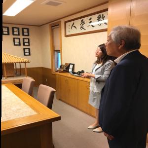 沖縄のクライアントさんの建設会社へ表敬訪問